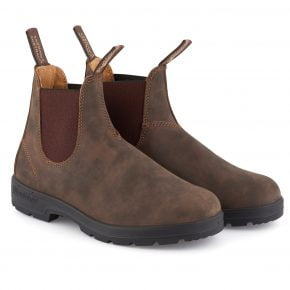 Blundstone #585 Rustic Brown Chelsea Boot