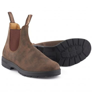 Blundstone #585 Rustic Brown Chelsea Boot