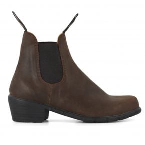 Blundstone #1673 Antique Brown Heeled Women's Boot